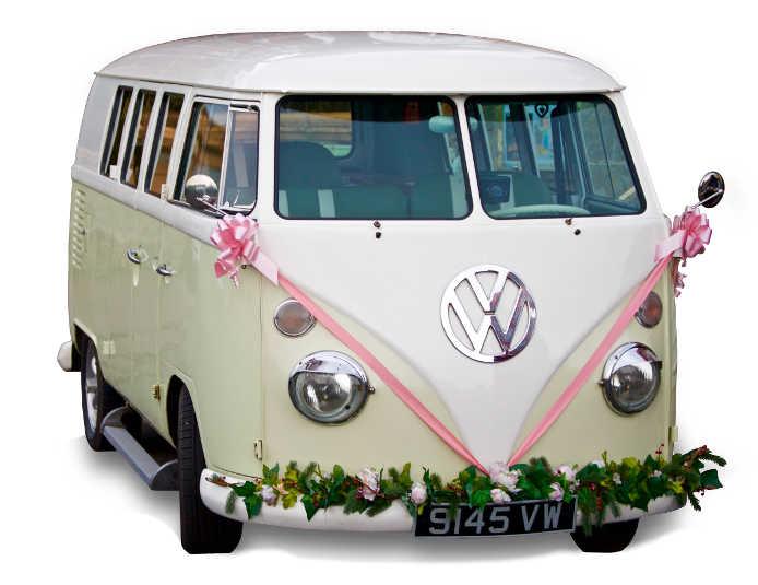 VW microbus classic German vehicle