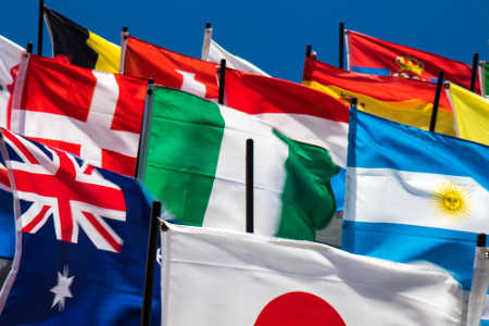 Halfax Translation Services Agency - Flags of all nations - languages