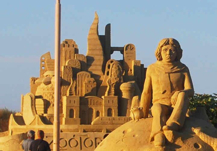 Peskovite skulpture Bugarska