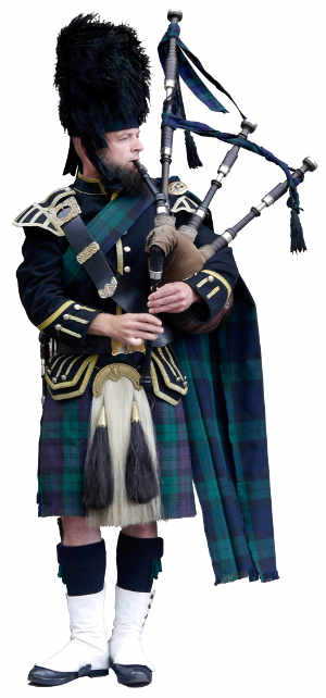 Scottish piper - Haifax Translation Services