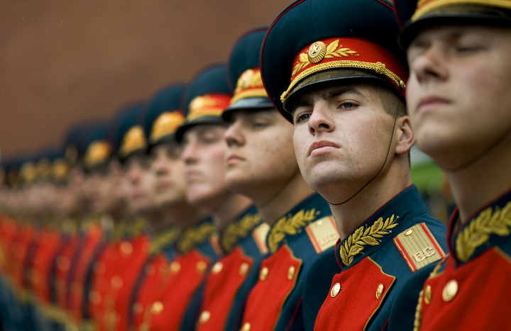 Russia - A Guard of honour