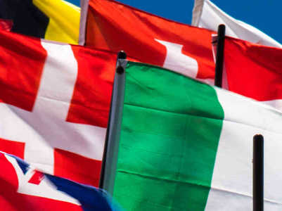 Flags of all nations - Halifax Translation languages