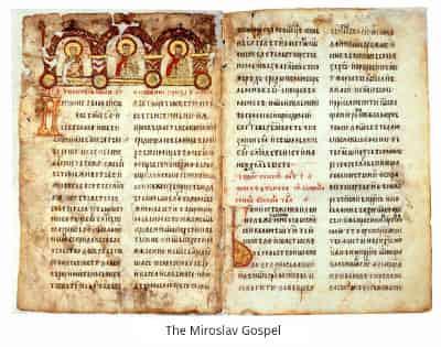 The Miroslav Gospel