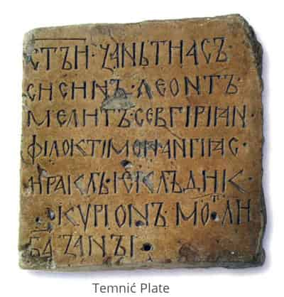 The Temnic Plate