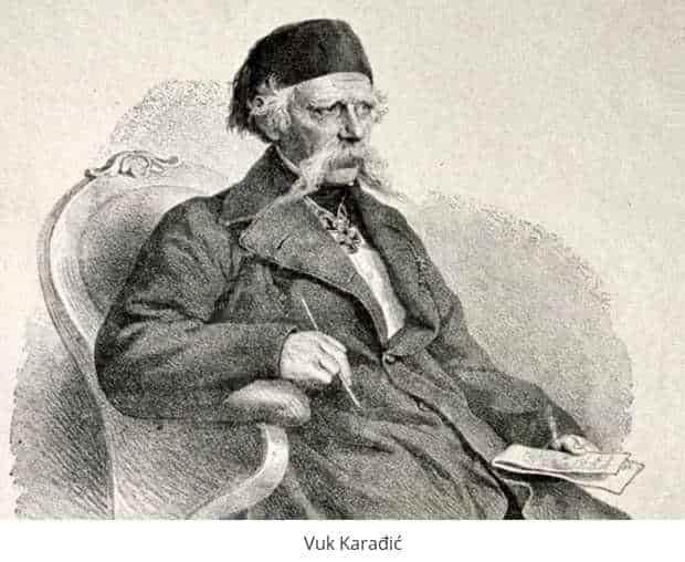 Vuk Karadzic - Halifax professional translation services Belgrade
