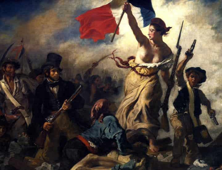 Delacroix: Sloboda koja vodi narod - Prevod sa francuskog i na francuski