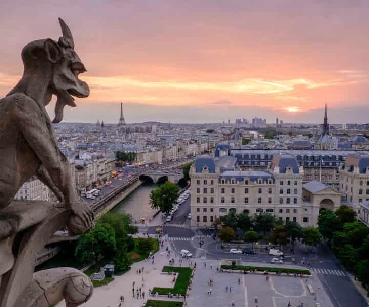 Gargoyle on Notre Dame - Halifax French language Services